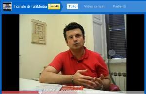 Videointervista al prof. AMERICO BAZZOFFIA all' Osservatorio Tuttimedia
