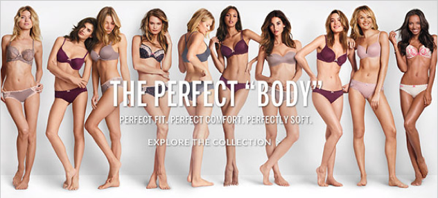 """the perfect body"" di Victoria's Secret"