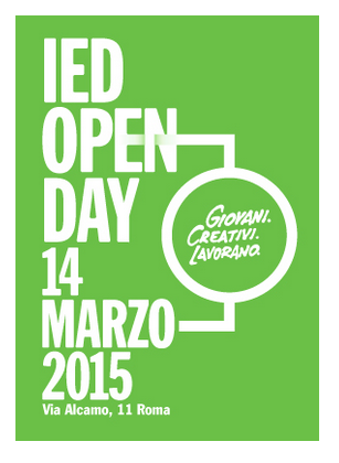 IED OPEN DAY - 14 MARZO 2015