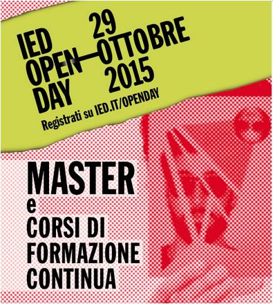 Il prof. Americo Bazzoffia all'Open Day dello IED ( Istituto Europeo di Design di Roma ) il 29 ottobre 2015