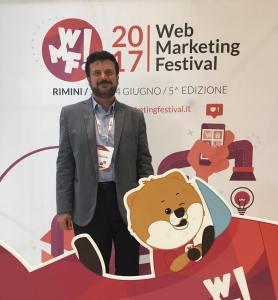 Il prof. Americo Bazzoffia selezionato tra i 120 migliori esperti di Digital Marketing e Comunicazione al Web Marketing Festival di Rimini
