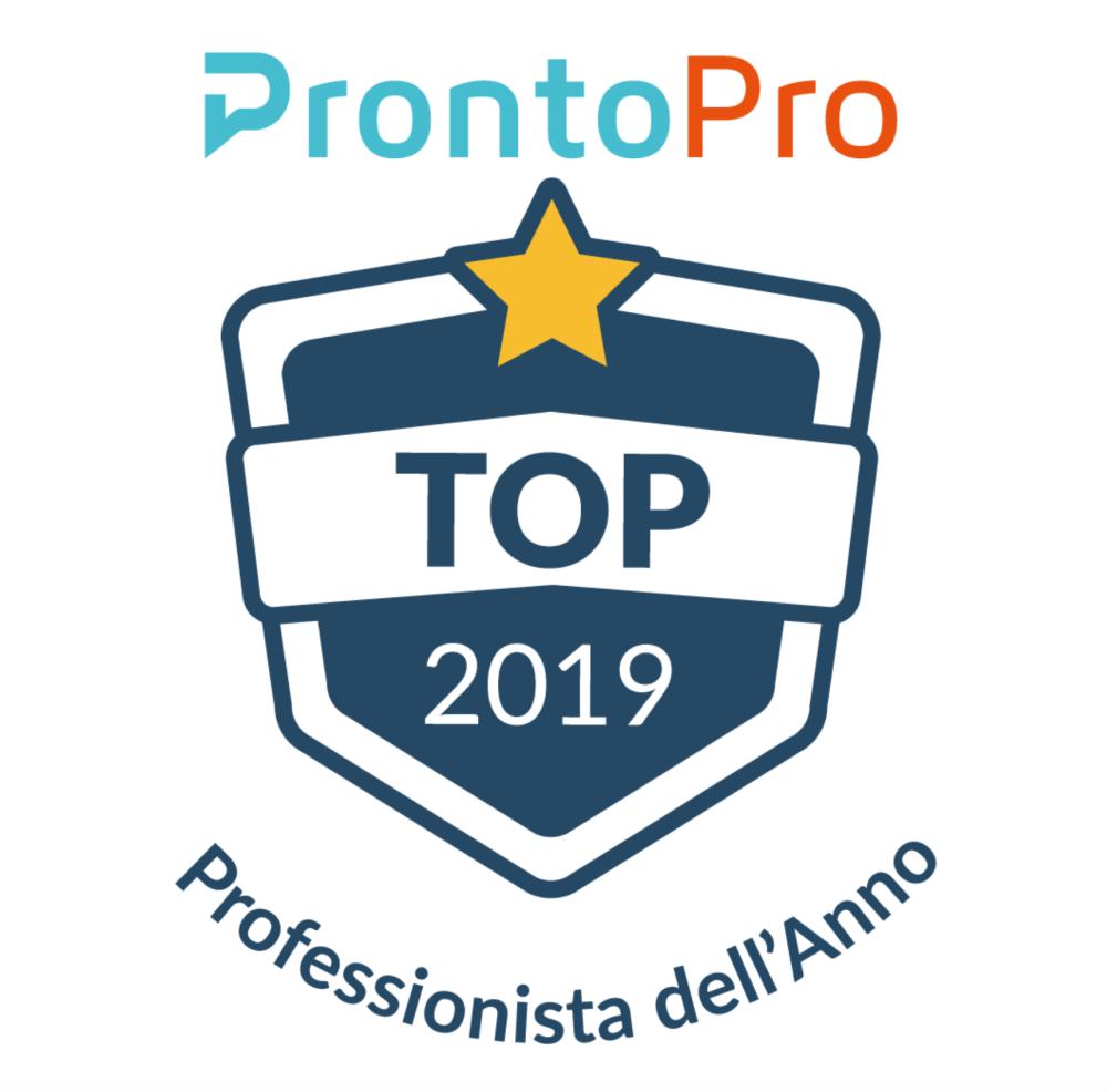 Americo Bazzoffia professionista dell'anno 2019 nel settore della formazione aziendale e per privati