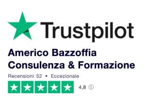 Il miglior centro di formazione aziendale e manageriale in Italia indicato da Trustpilot